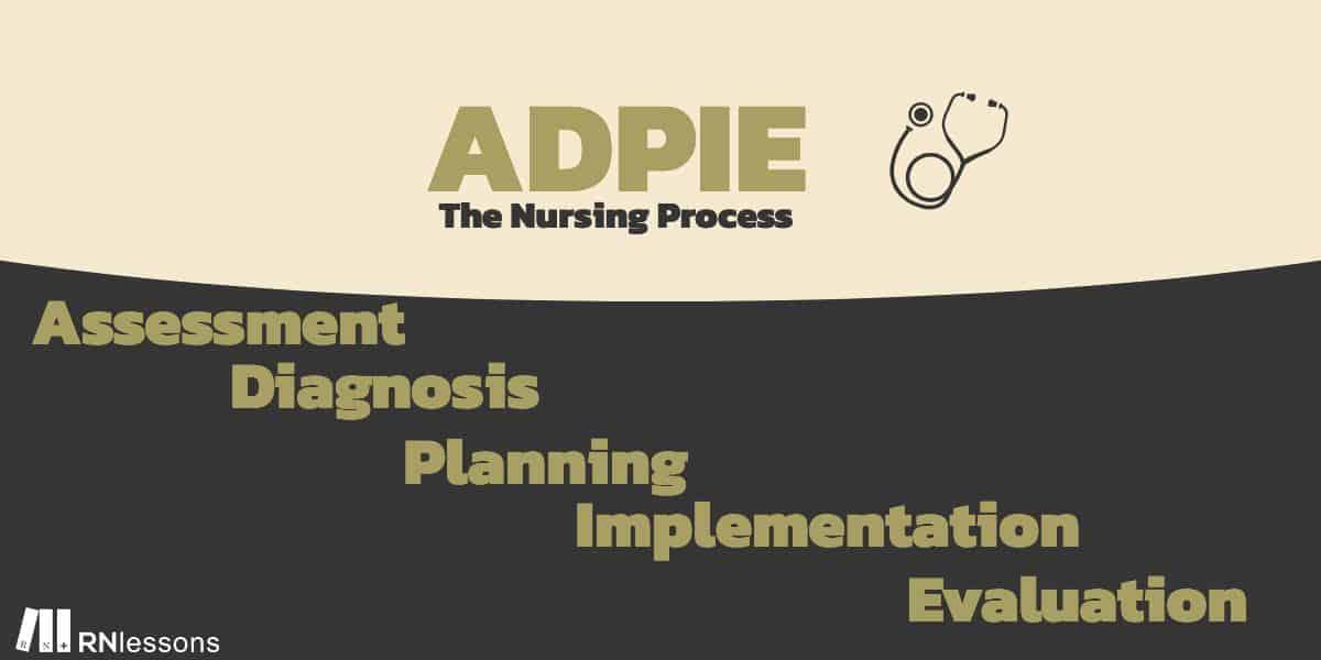 Adpie the nursing process